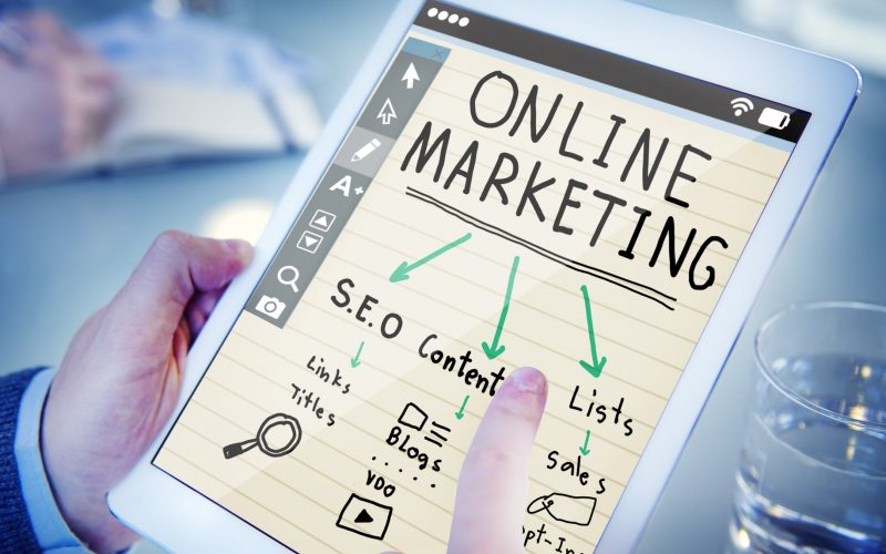 picture of digital marketing options