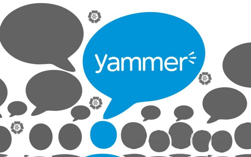 yammer being used at companies